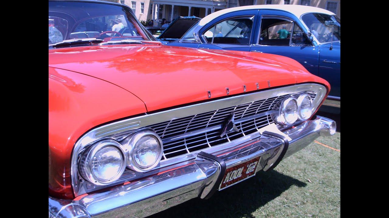 1962 Dodge Custom 880 Two Door Hardtop RedWht MtDoraLakesideInn050915 - YouTube