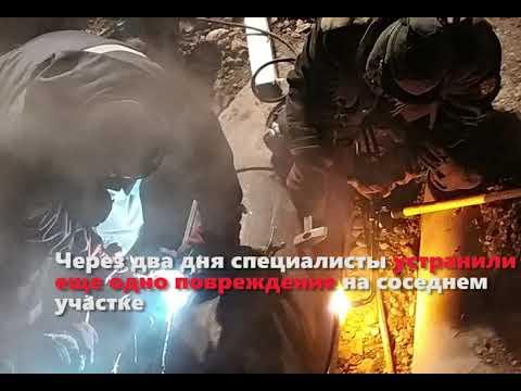 Наша работа этой зимой в Красноярске