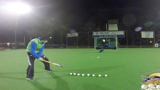 Borg van der Velde - Field Hockey Goalie Skill Video