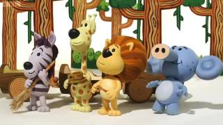 Raa Raa the Noisy Lion 7 Шумный львенок Ра Ра Ooo Ooos Jungle Drums