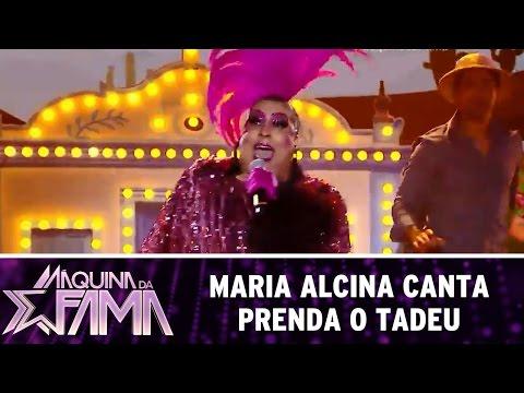 Máquina da Fama (18/07/16) Maria Alcina canta 'Prenda o Tadeu'