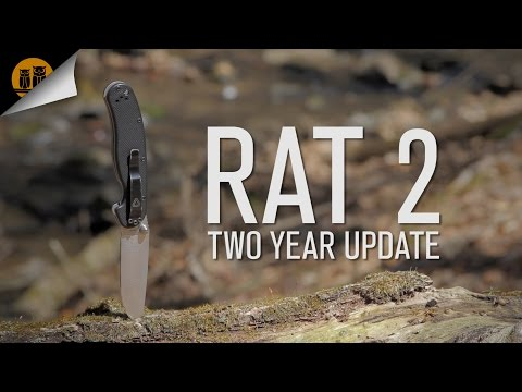 Ontario Knife Co. RAT 2 | Two Year Update | Field Review