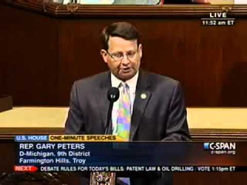Rep. Gary Peters on CSPAN June 22, 2011