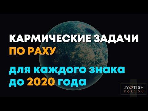 Кармические задачи по Раху для Каждого знака до 2020 года