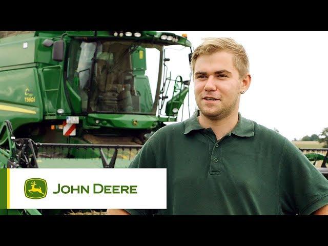 John Deere T560i im Einsatz