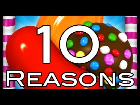 Candy Crush Saga: 10 Reasons Not To Play It!