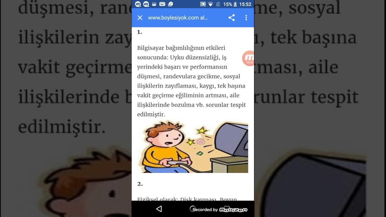 Bilgisayar ekranı gözleri bozar mı