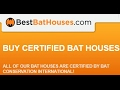 Best Bat Houses Certified By Bat Conservation International