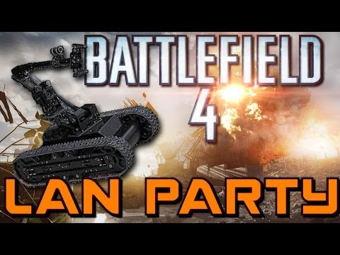 Battlefield 4 Baby Bots and No Parking - LAN Party