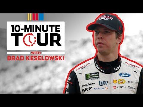 Brad Keselowski makes a PB&J sandwich in the hauler: 10-Minute Tour