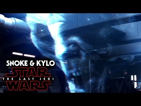 Snoke's NEW Look Revealed! & Kylo Ren Details - Star Wars The Last Jedi