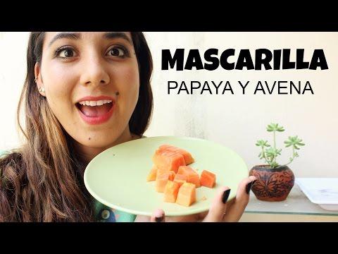 MASCARILLA DE PAPAYA- BUENISIMA! -♥Angy