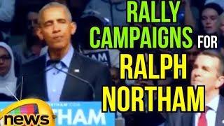 Former president obama speech | rally campaigns for ralph northam  | mango news