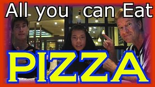 PIZZA All-You-Can-Eat = Eric Meal Time #44