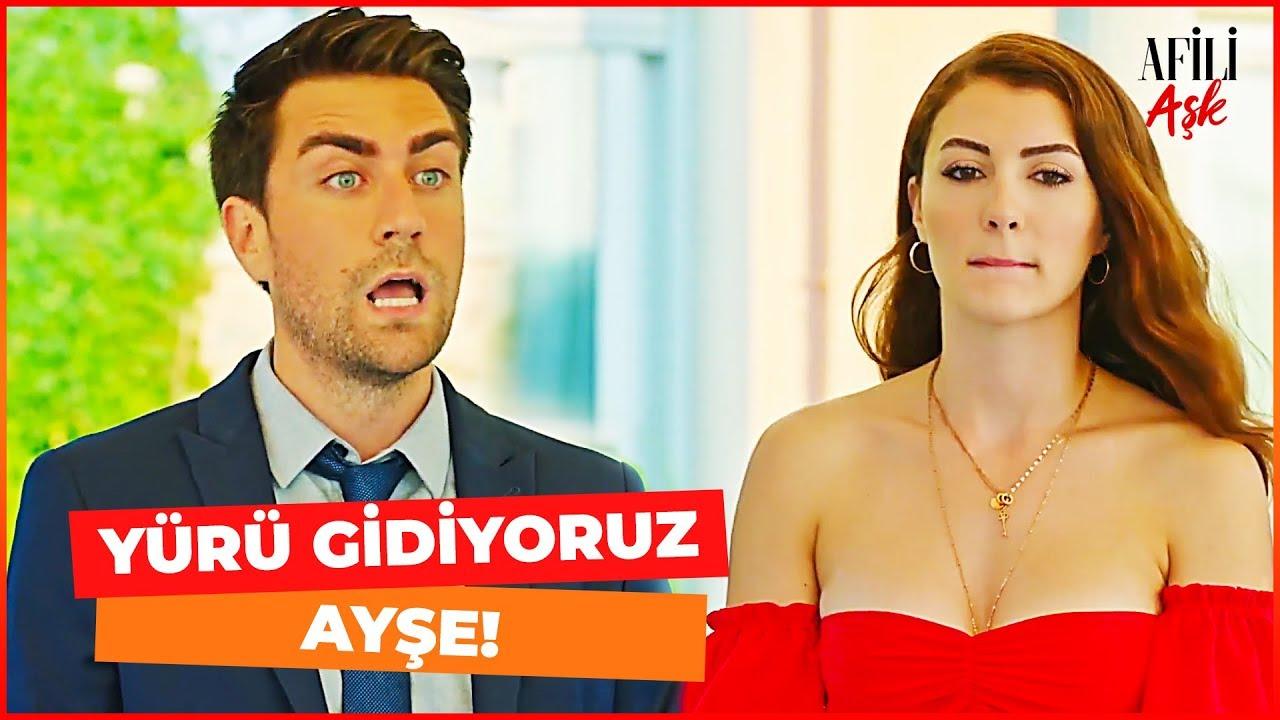 Ayşe ve Kerem Evi Terk Etti! - Afili Aşk 13. Bölüm