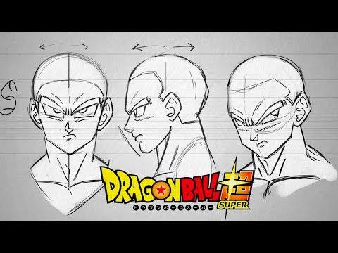 APRENDA A DESENHAR QUALQUER SAYAJIN! - Tutorial de desenho! Dragon Ball Super