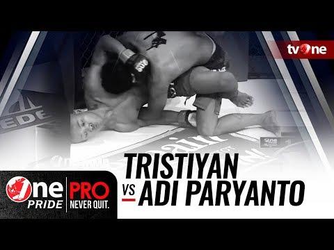 [HD] One Pride MMA #3: Tristiyan VS Adi Paryanto - Strawweight  Tournament Fight