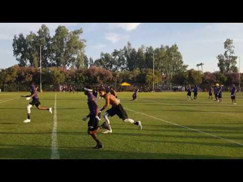Samson Enis Td during Passing League