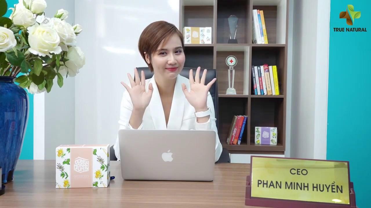 Diễn viên Phan Minh Huyền chia sẻ về BỘT RỬA MẶT ĐÔNG Y HOÀNG CUNG 💋 Myphamhera.com