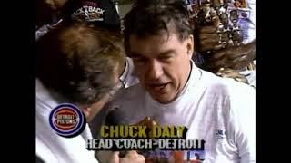 1990 Detroit Pistons Championship Celebration (Back-to-Back)
