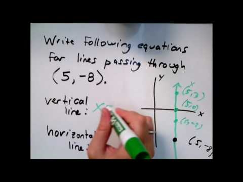 How to write equations of horizontal and vertical lines pay to write esl best essay on civil war