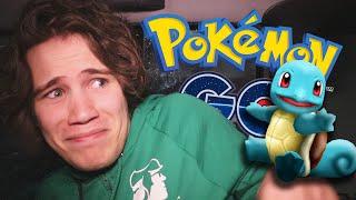 POKEMON GO THROUGH A CAR-WASH - Pokemon Go #4