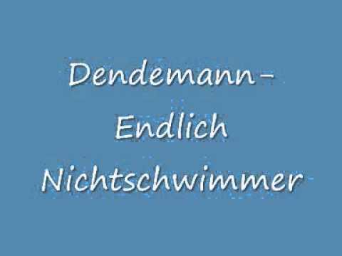 Dendemann -Endlich Nichtschwimmer (Lyrics)