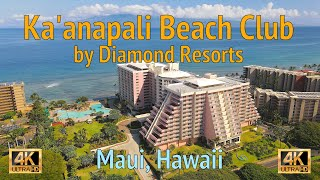 4K Drone: Ka'anapali Beach Club by Diamond Resorts - Maui, Hawaii - July 22, 2020