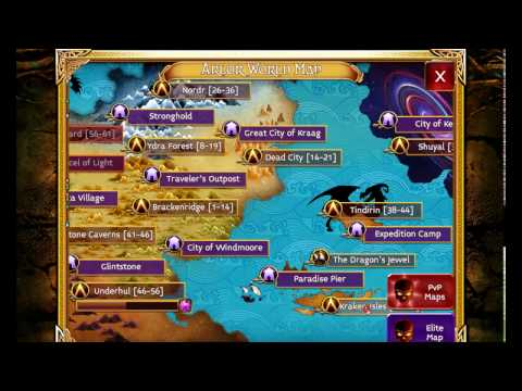 Arcane Legends - Good Map For Farming Locked Chest