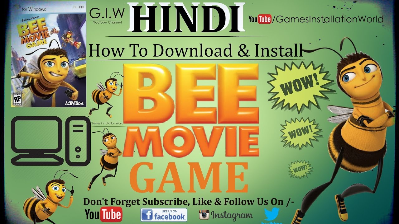 bee movie free download in hindi