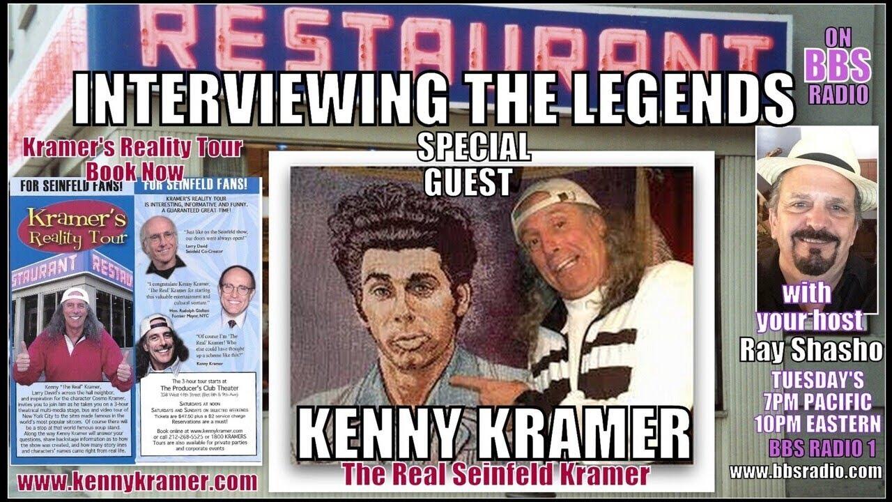 Kenny Kramer 'The Real Seinfeld Kramer' exclusive!