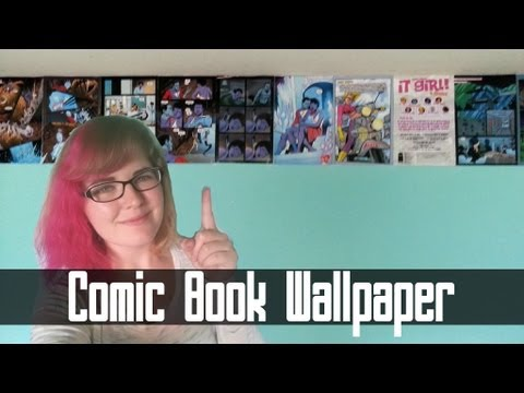 Comic Book Wallpaper How To
