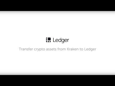 Transfer Your Crypto Assets From Kraken To Ledger