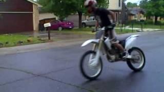 Dirt Bike Burnout