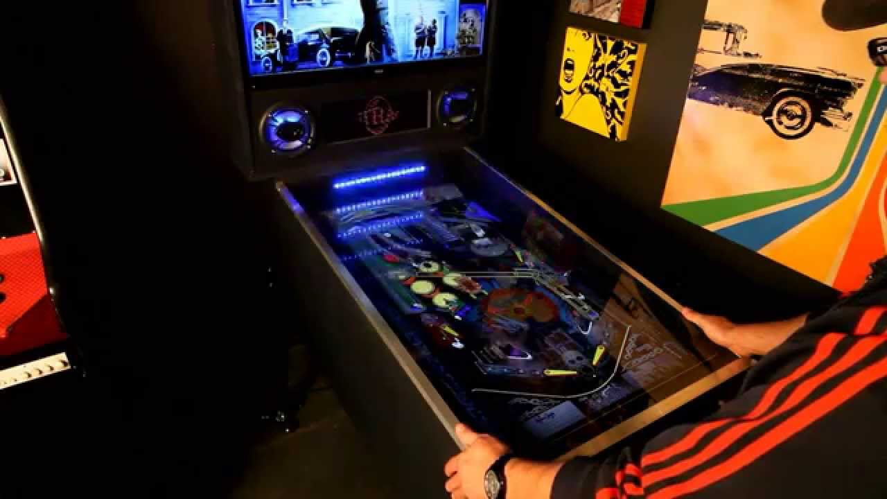 My Virtual Pinball Arcade Cabinet - YouTube