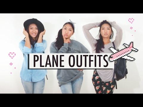 WHAT TO WEAR ON A PLANE | Long haul flights