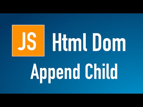 Learn JS HTML Dom In Arabic #13 - Elements - Children - Append Child