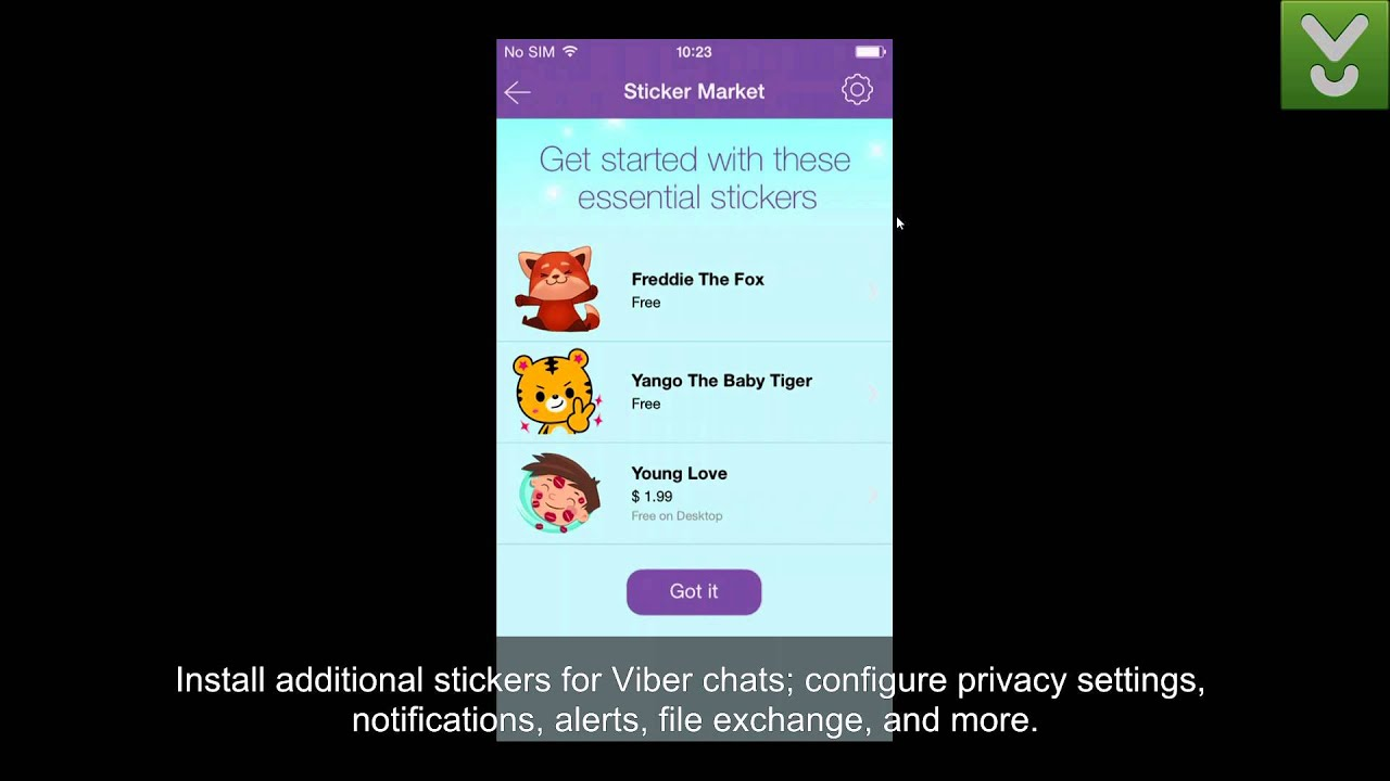 Viber for iOS - Call, text, and send photos for free - Download Video  Previews