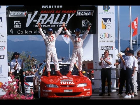 WRC 1999 - Tour de Corse feat. Philippe Bugalski and Citroen Xsara Kit Car