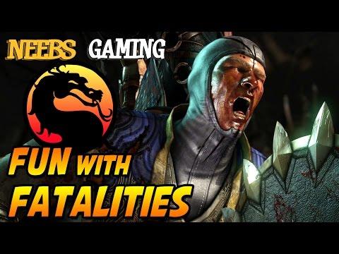 MORTAL KOMBAT X - FUN with FATALITIES! (60 fps) |
