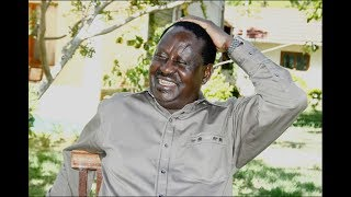 Raila Odinga chides his Jubilee rivals, in a clever riddle likening them to a night runner