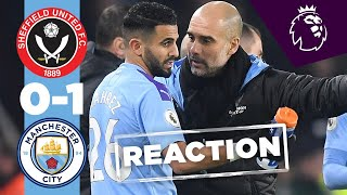 Pep Guardiola Post-Match reaction | Sheffield United v Man City