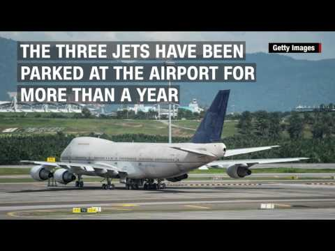 Mystery 747s Left At Malaysia Airport