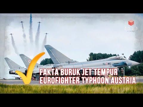 Kelebihan dan Kelemahan Jet Tempur Eurofighter Typhoon Austria