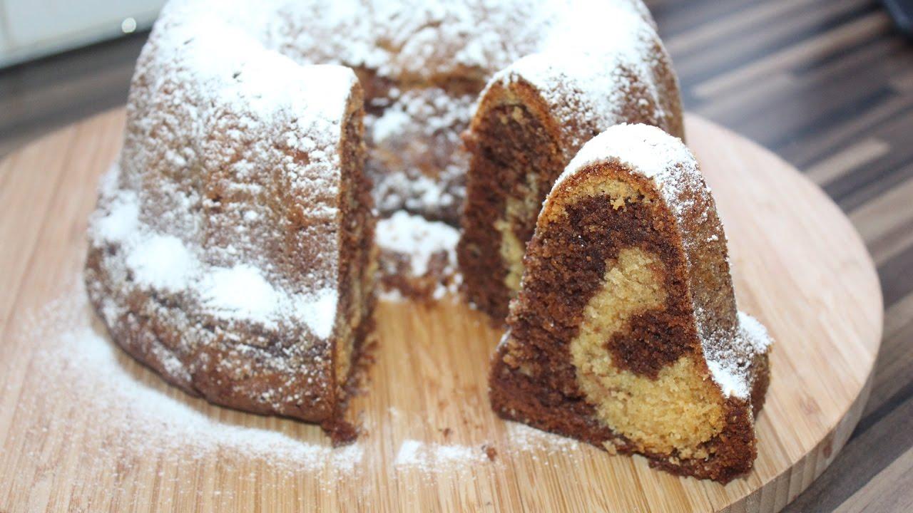 Eierlikor Nutella Kuchen Mamorkuchen Mit Schuss Youtube