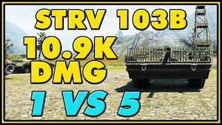 World of Tanks | Strv 103B - 9 Kills - 10.9K Damage