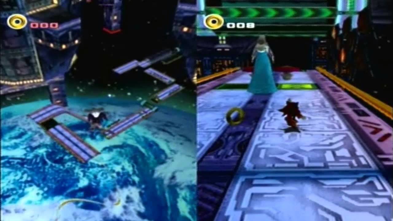 Sonic Adventure 2: Battle Action Replay codes: Knuckles Final Rush & Rouge  VS  Shadow Final Chase