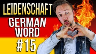 Learn German A.1 🇩🇪 Word Of The Day: Leidenschaft | Episode 15 | Get Germanized