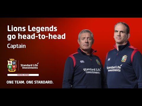 Who is the Captain? British & Irish Lions legends select their Lions Captain