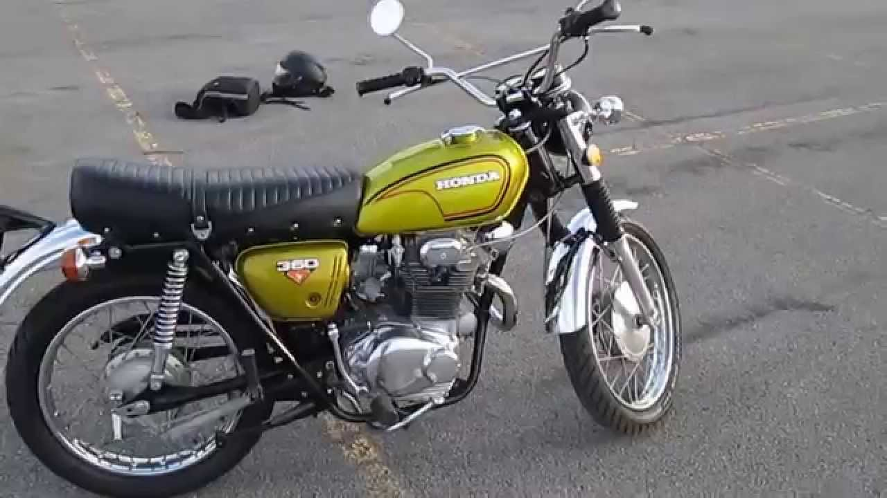 rare 1972 honda cl350 k4 scrambler for sale - youtube